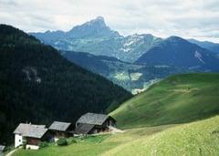 Wengen in Südtirol