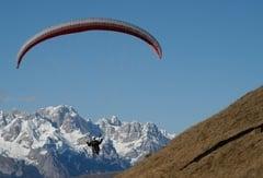 Paragliding in Südtirol