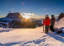 Dolomiti-Skisafari mit Sellaronda & Gebirgsjägerrunde