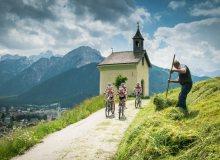 Radeln durch die Dolomiten